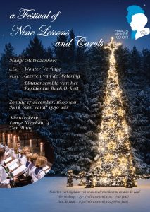 A Festival of Nine Lessons and Carols @ Kloosterkerk, Den Haag