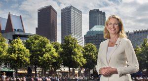 Burgemeester Pauline Krikke.(Den Haag 14-08-17) Foto:Frank jansen